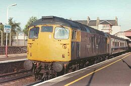 26014 at Broughty Ferry. Photo: Alex Hall